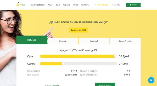 E-Groshi – Кредит до 30 000 грн